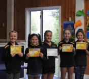 athletics longjump year5and6girls