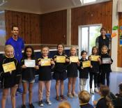 athletics sprints year3and4girls